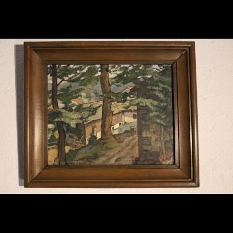 Peinture de jean Montemont