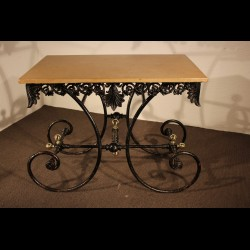 Table de boucher 19 eme siècle,