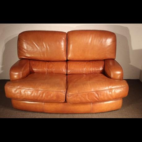 Canapé des années 1970 en cuir