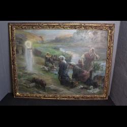 Peinture d'« Eugène DELECLUSE»