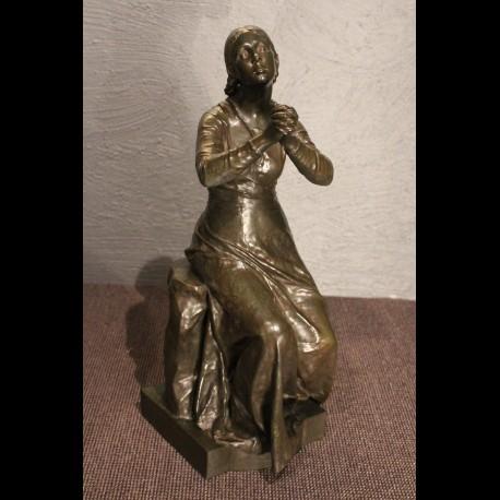 Jeanne d'Arc en bronze