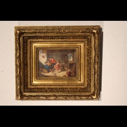 Peinture d'enfants 19 éme siècle